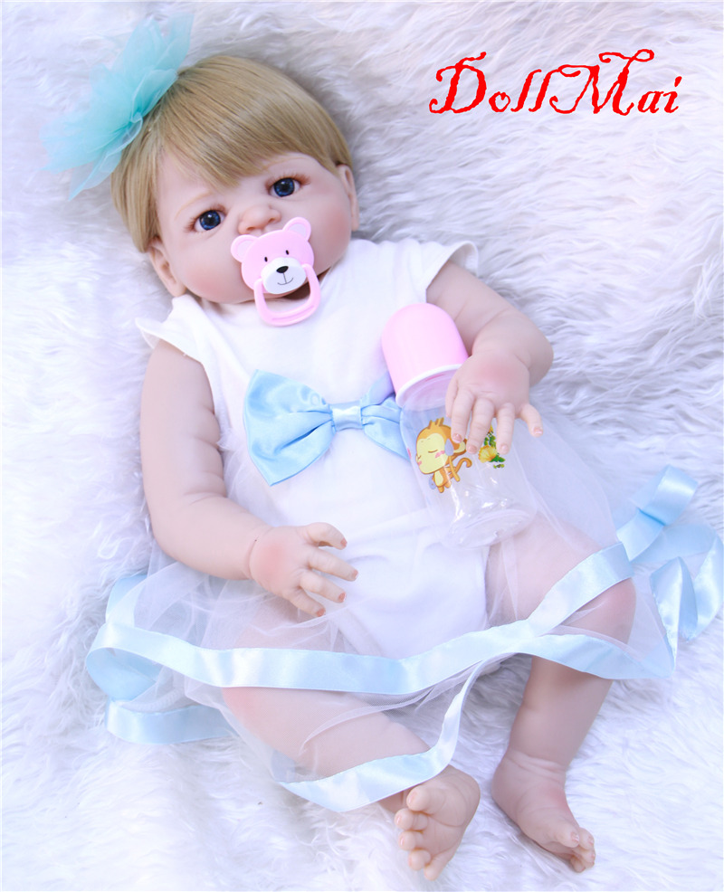 22 Quot 55cm Full Body Silicone Reborn Baby Dolls Cheap Reborn
