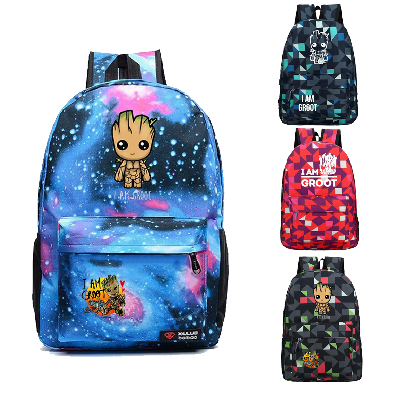 Avengers Guardians of The Galaxy Backpack Mens Laptop Backpack School Bags for Teenagers Girls Travel Bagpack Kids Book BagsAvengers Guardians of The Galaxy Backpack Mens Laptop Backpack School Bags for Teenagers Girls Travel Bagpack Kids Book Bags