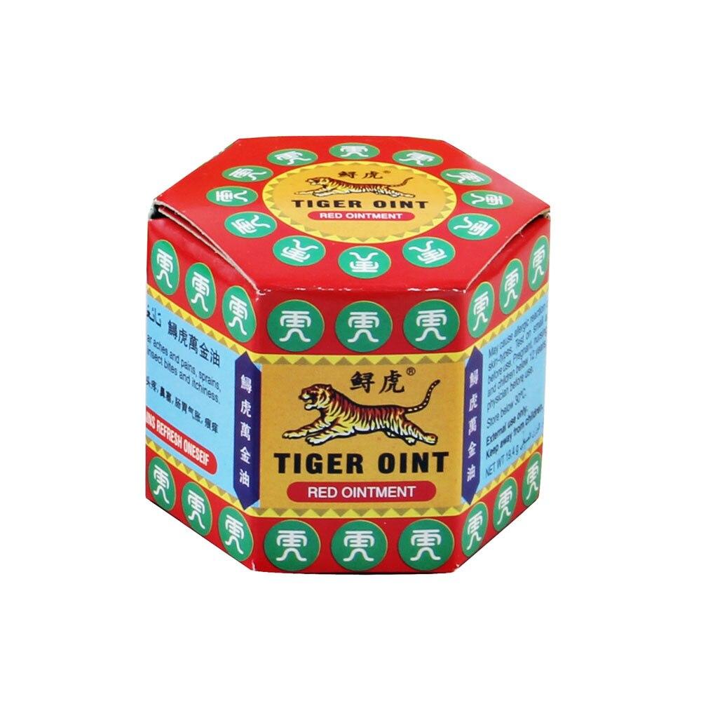 100% оригинальный красный тигровый бальзам, мазь из таиланда для покраски мышц, облегчения боли