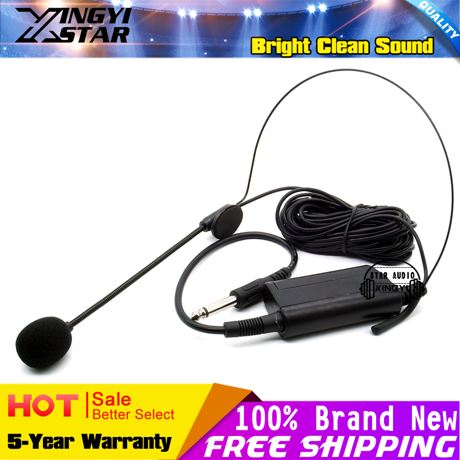 Condensador profesional Micrófono Auricular Para Cámara DSLR - Audio y video portátil