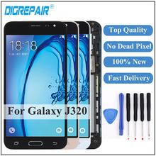 For Samsung Galaxy J3 2016 Display J320F FN J320M J320H Touch Screen Digitizer Frame J3 Display