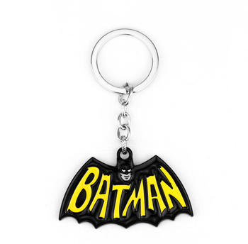 SG Hot Movie Superman Batman Necklaces Avengers 3 Bat Logo Pendant Chkoer Superhero Spider Thor Iron