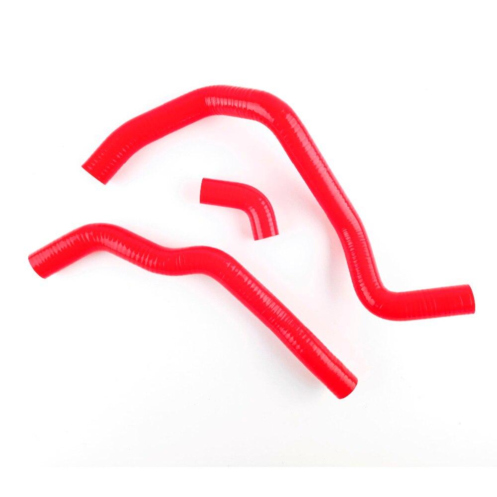 Pour Honda Fit Jazz 1.3L 1.5L L15 L13 4 plis rouge Kit de tuyau de Silicone de radiateur