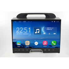 ChoGath 9 pulgadas Android 6.1 de radio del coche de KIA sportage r 2011 2012 2013 2014 2015 coche gps unidad principal de navegación estéreo del coche Sin Canbus
