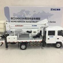 Коллекционная модель из сплава игрушка в подарок 1:50 Масштаб XCMG GKH23A воздушная Рабочая платформа ISUZU грузовик литье под давлением Игрушка Модель дисплея