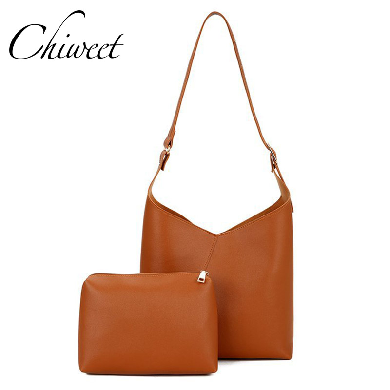 Brand Women Tote Casual Hobos Composite Bag Shoulder Bags Designer Large Capacity PU Leather Handbags Female Solid Messenger Bag цена