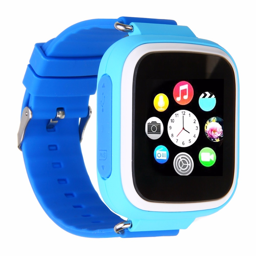 Q80 Kids Children Smart Watch GPS SOS Phone Call Location Device Tracker Bracelet Baby Anti-lost Watch Pink/Blue/Yellow image