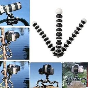 Image 5 - 2018 صغيرة الأخطبوط مرنة حامل ثلاثي القوائم ل Gopro بطل كاميرا الرقمية DV لكانون نيكون الهاتف المحمول صغيرة الحجم