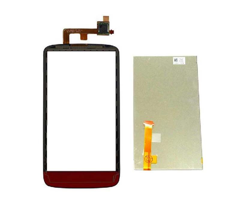 For HTC Sensation XE G18 Z715E Touch Screen Digitizer Glass Sensor + LCD Display Panel Screen Module Monitor Replacement