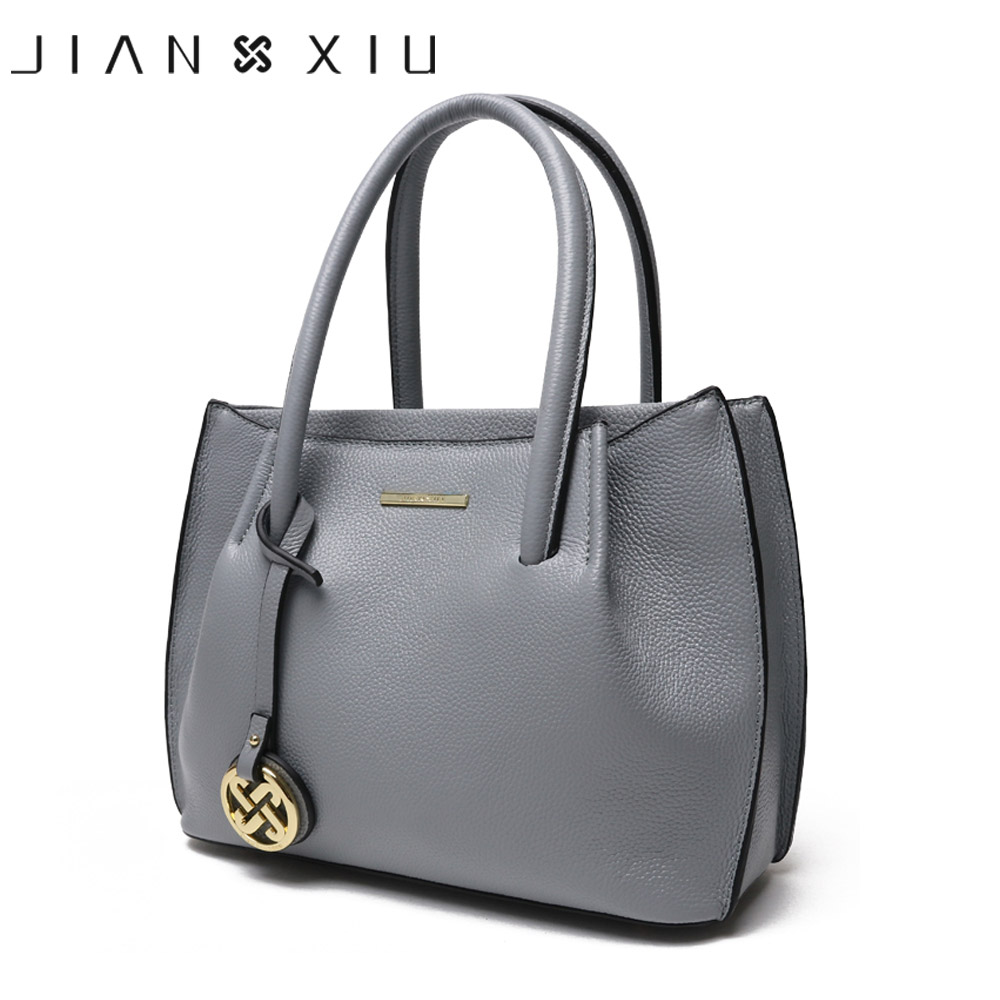 JIANXIU Genuine Leather Bags Luxury Handbags Women Bags Designer Shoulder Bag Bolsa Bolsos Mujer Sac a Main Bolsas Feminina 2017 kmffly luxury handbags women bags designer genuine leather fashion shoulder bag sac a main marque bolsas ladies casual handbags
