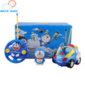Children  Electric RC Car Kids RC Car Radio-controlled Speed Toys Remote Control Cartoon Car Toy for 1 Year Baby Kids Music Toys