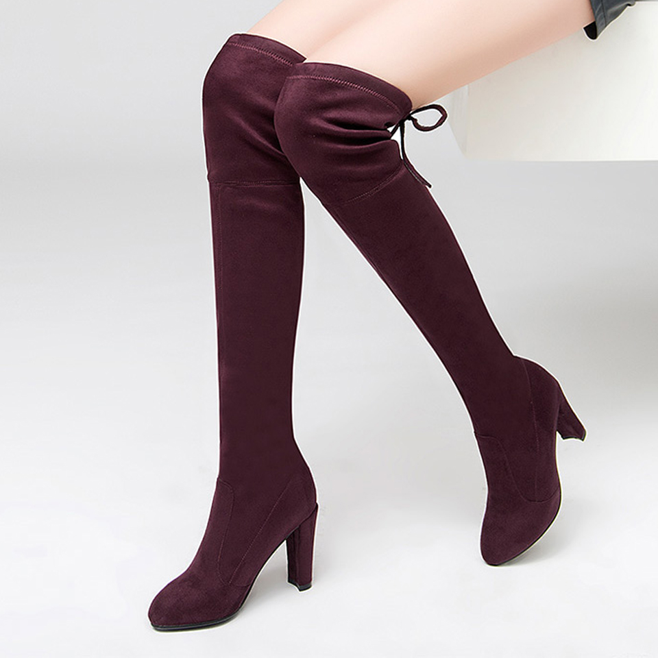 8e044a456e6 Soft Leather Thigh High Boots Promotion-Shop for Promotional Soft .