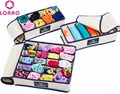 Marca LOAAO caixas de Caixas De Armazenamento Organizador Casa underwear bra gravata meias Eco Caixas De Armazenamento com tampa