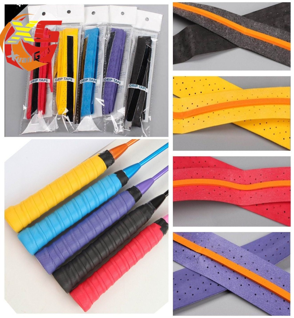 400pcs Badminton Racket Overgrips Anti-skid Sweat tape Tennis Racquet OverGrip Fishing Skidproof Sweat Band grip