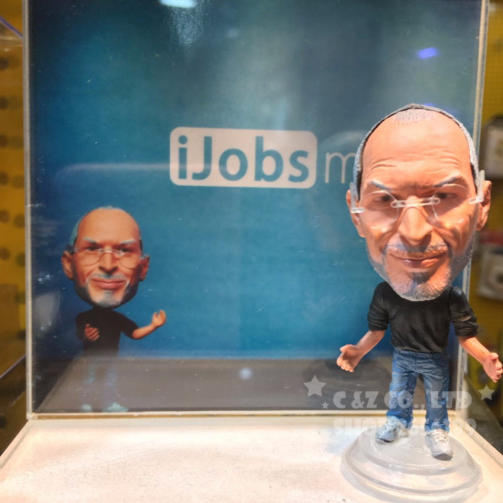 Famous Technique Leader Steve Movable Joints Resin Model Jobs Toy Action Figure Dolls Collectible Gift