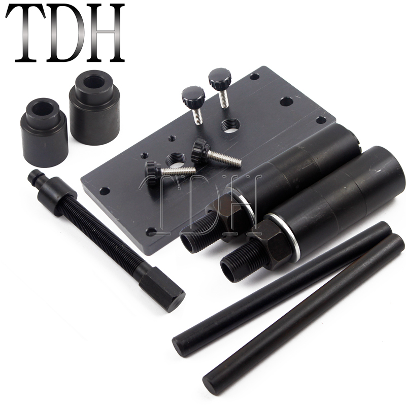 1 Set Black New Twin Inner Cam Bearing Installer Puller Tools For Harley 1999 Present-in Covers & Ornamental Mouldings from Automobiles & Motorcycles    1