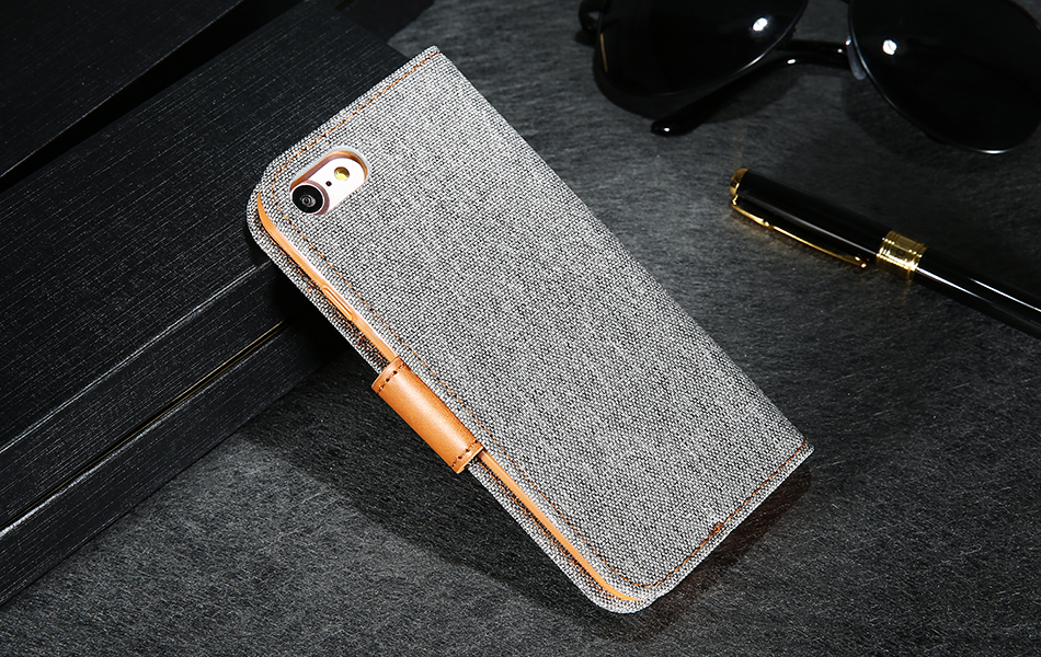 DOEES Luxury Stand Wallet Flip Cases For iPhone 6 6S Plus 7 5 5S SE Fashion Card Slot Leather Cover For iPhone 7 6 5 S With LOGO (16)