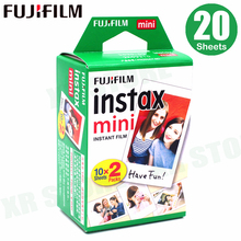 Fujifilm Instax Mini Film White Edge 20 Sheets/Packs Photo Paper for Fuji instant camera 11 9 8 7s 25 50 90 sp 1 2 with Package
