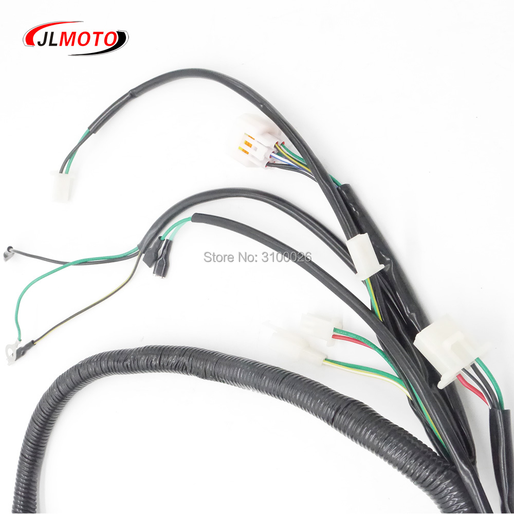 Atv Wire Loom Fit For China Racing Quad Bike Jinling 300cc Parts Power Cable Wiring Harness Cord Eec Jla 931e Jea 31e 2a 09 Scooter In Accessories From Automobiles