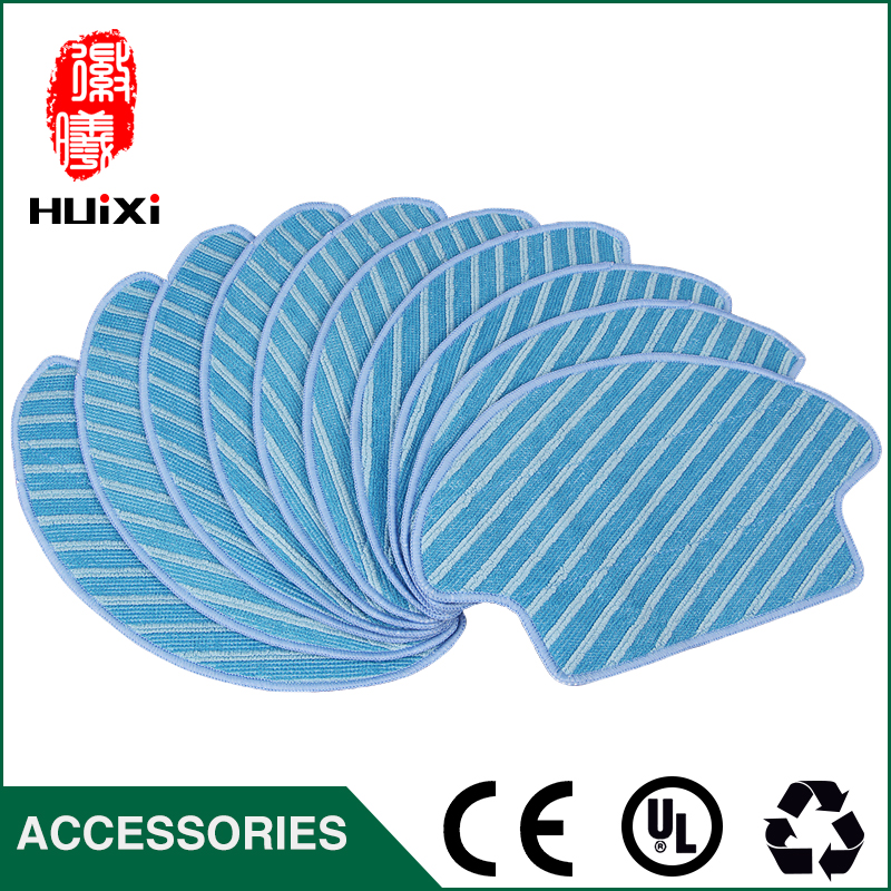 Blue 269*157*187mm Vacuum Cleaner Mop Cloth for DG710 Sweeping Machine Durable Cloth for House