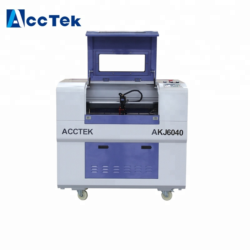Laser cutting plywood mdf laser cutting machine for wood keychains machine 6090 6040