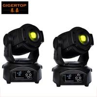 Tiptop 2 xlot americano dj equipamentos 90 w led luz em movimento da cabeça rotativa/roda de gobo estática intercambiáveis padrão roda tp-l606b