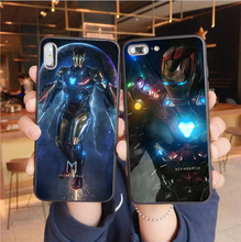 2019 Marvel Avengers 4 Iron Man Case For Coque iPhone XS MAX Case black Soft TPU Back Cover For iPhone X XR 6 6S 7 8 Plus Case ipy i601 2 in 1 design tpu plastic case for 4 7 iphone 6 black gold