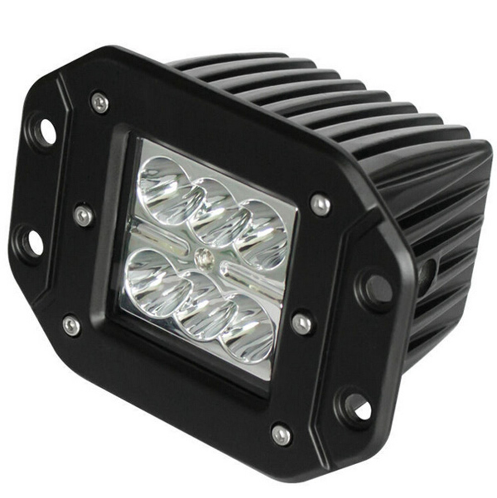 Flood Spot 18w Led Work Light Off Road Driving Lamp For Tent Shed Photo Cube Softbox With 4 Colored Background 80 X Jeep Suv Boat 4x4 Truck