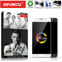 AMOLED 4.7 Sinbeda For SAMSUNG Galaxy A310 LCD Display Touch Screen Digitizer For SAMSUNG A3 2016 Display A310M A310 A310F LCD