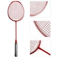 5U Carbon Fiber Badminton Racket Raquette Professional Light Weight Rackets 22 30lbs Z Speed Force Padel