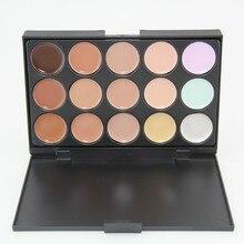 15 Color Professional Face Concealer Palette Facial Care Camouflage Makeup Cream Contour Palette