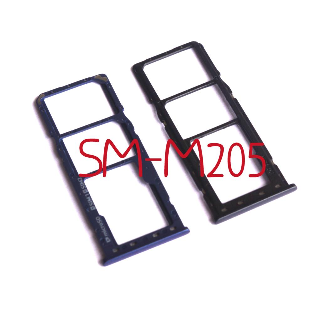 <font><b>SIM</b></font> Tray Holder SD <font><b>Card</b></font> Reader Slot <font><b>Adapter</b></font> for <font><b>Samsung</b></font> Galaxy M20 M205F M205G M205FN M205DS image