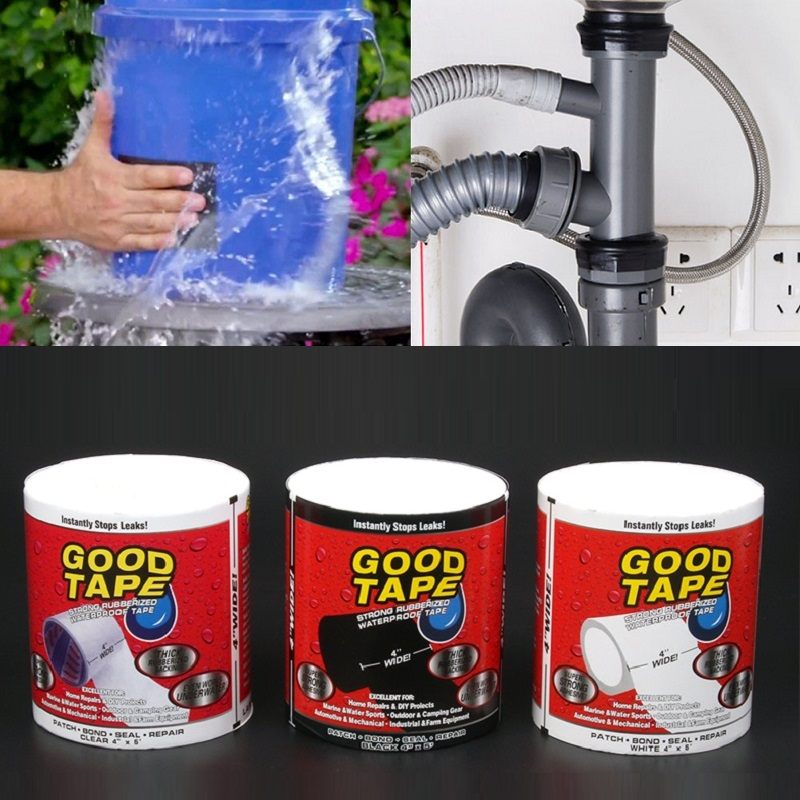 Waterproof Duct Tape Tools Super Strong Repair Highly Adhesive Heavy Duty Tape for Garden Hose Pipe Water Tap Quickly Stop Leak(China)