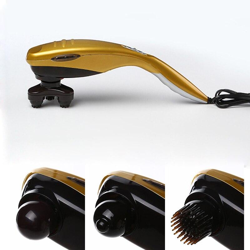 JORZILANO Multifunctional Massage Stick Electric Cervical Vertebra Massage Device Health Beauty Care Neck Waist Body Massage