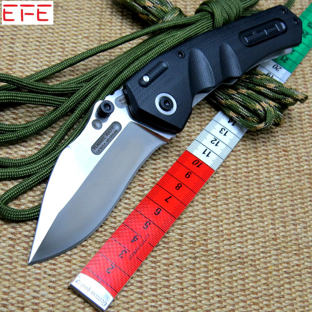 Efeng TUNNEL RAT GFMIS MAGNUM Revol-GB folding knife G10 Griff Messer 9CR18MOV blade steel Outdoor tool Camping Knife ontario knife rat 1