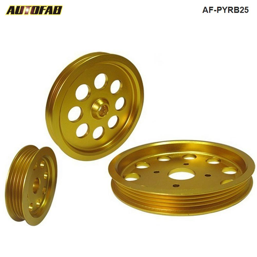 US $35 15 5% OFF|LIGHT WEIGHT CRANK PULLEY For Nissan skyline GTS GTR Rb20  RB25 RB30 RB26 PULLEY AF PYRB25-in Crank Mechanism from Automobiles &