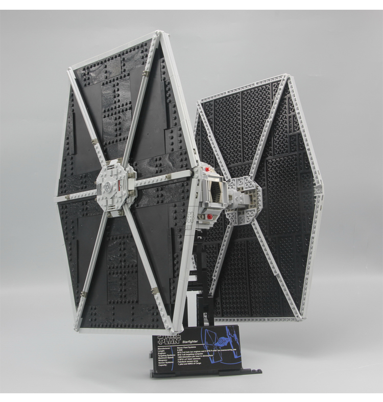 1685pcs Lepin 05036 Star Series Wars Tie Toys Fighter Building Educational Blocks Bricks Compatible with 75095 Children boy Gift new 1685pcs 05036 1685pcs star series tie building fighter educational blocks bricks toys compatible with 75095 wars