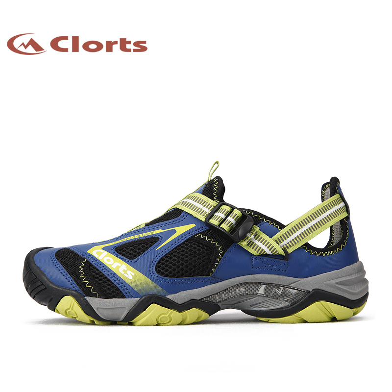 Clorts New Arrival Men Upstream Shoes Quick-drying Outdoor Water Shoes Mesh Aqua Shoes for Male 3H010A shipped from usa warehouse 2018 clorts women water shoes summer beach shoes quick dry aqua shoes for women free shipping wt 24a