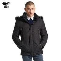 HAI YU CHENG Winter Parka Men Coats Men S Winter Jackets Quilted Men Jacket Mens Hooded
