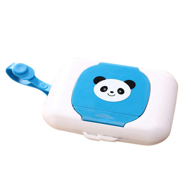 New Cute Baby Travel Wipe Case Child Wet Wipes Box Changing Dispenser Storage Holder Napkin Box Baby Kids Wipes Storage Case  2