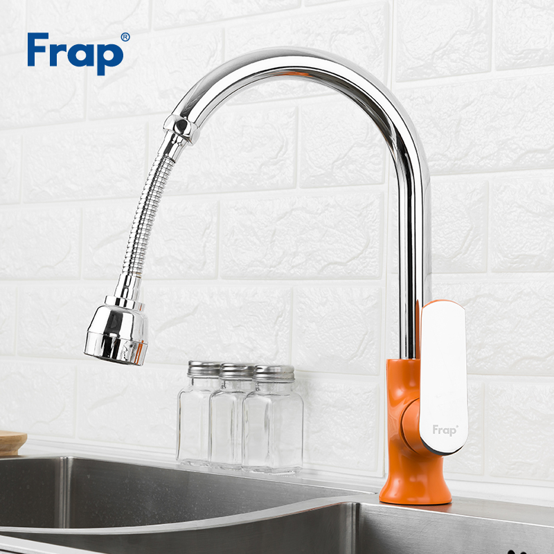 Frap Flexible Kitchen Tap Aerator Universal 360 Degree Rotary Water Nozzle Saving Spray Head Kitchen Faucet Accessories F7311