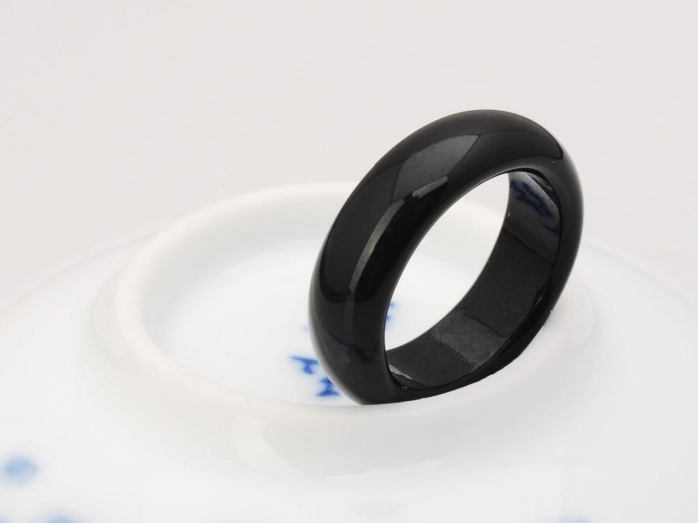 Թեժ վաճառք բարձրորակ Բնական սև քարե - Նորաձև զարդեր - Լուսանկար 3