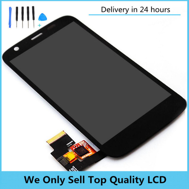 For Moto G Screen Assembly Xt1032 Xt1033 lcd complete with Frame Touch lcd Assembly With Free Tools Test One By One