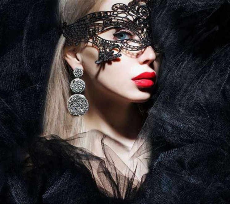 Taoqueen ฮาโลวีนเซ็กซี่หน้ากากหมวก Halloween เครื่องแต่งกาย Venetian Carnival Mask สำหรับ Anonymous การ์ตูนหมวก