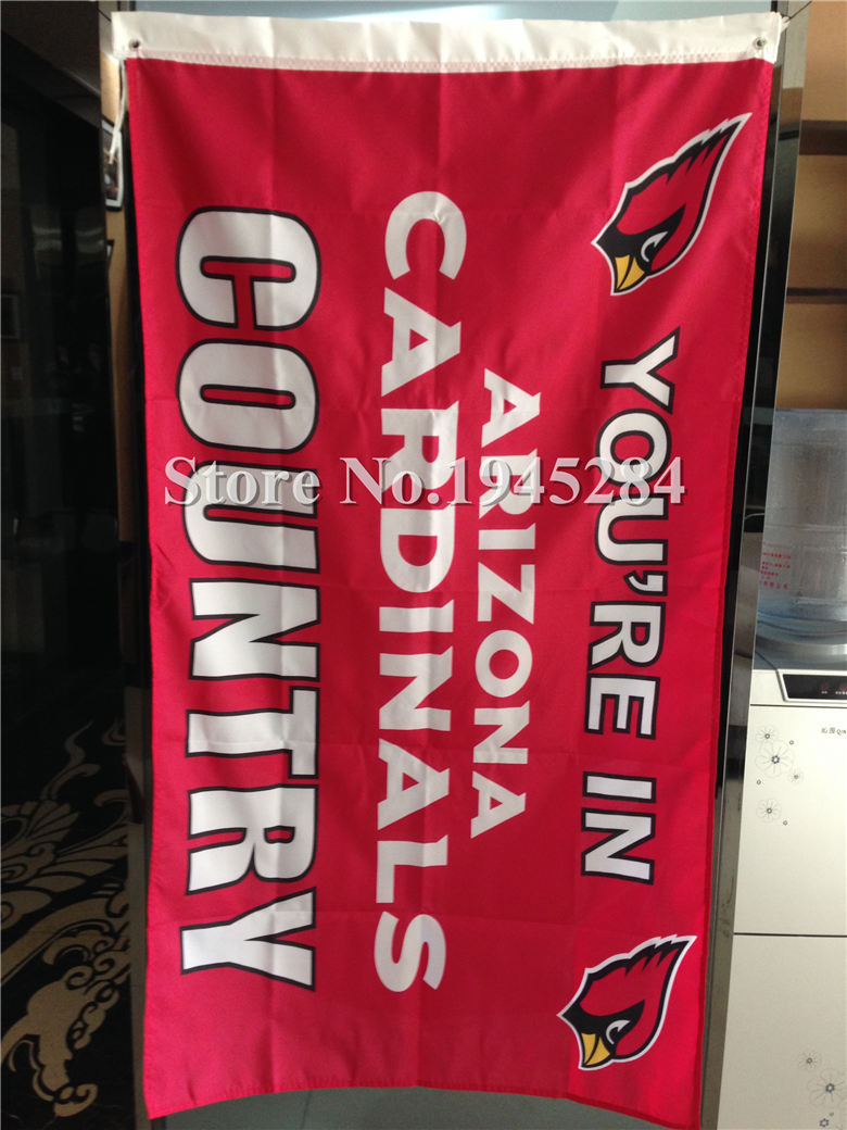 NFL Arizona Cardinals Country Flag New 3x5ft 90x150cm Polyester Flag Banner, free shipping