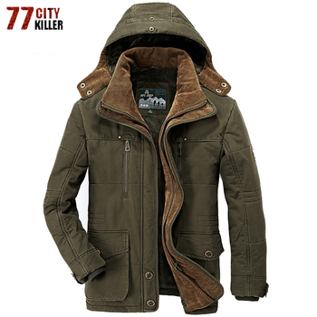 Brand Thick Winter Parkas men Military Fleece Jacket men Hooded Casual Multi-Pocket Parkas Hombre Invierno Plus Size 5XL 6XL 7XL
