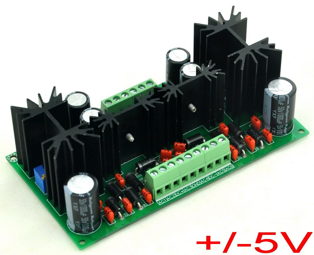 Ultra Low Noise Adjustable 18v Dc Voltage Regulator Module By Tl431 Electronic Projects Circuits 5v Lt1963a Lt3015