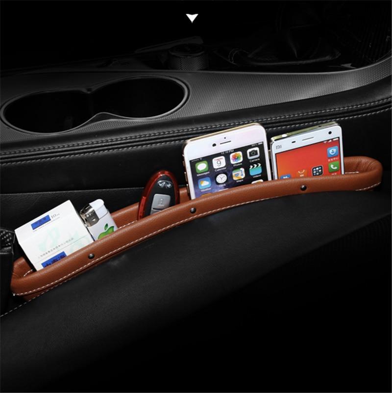 For Infiniti Q50 QX50 QX60 QX70 Leather Car Seat Gap Storage bag containerFor Infiniti Q50 QX50 QX60 QX70 Leather Car Seat Gap Storage bag container