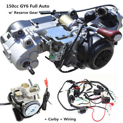 us $369 0 gy6 150cc fully auto reverse gear engine wiring loom harness carburetor in atv parts \u0026 accessories from automobiles \u0026 motorcycles ongy6 150cc fully auto reverse gear engine wiring loom harness carburetor