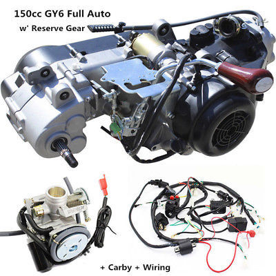 us $369 0 gy6 150cc fully auto reverse gear engine wiring loom harness carburetor in atv parts \u0026 accessories from automobiles \u0026 motorcycles on Wiring- Diagram